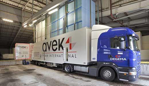 Persauto van schuimfabrikant Avek Foam International